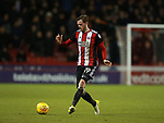 Richard Stearman of Sheffield Utd during the Championship match at Bramall Lane Stadium, Sheffield. Picture date 30th December 2017. Picture credit should read: Simon Bellis/Sportimage