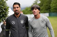 31.05.2016: Pressekonferenz der Deutschen Nationalmannschaft