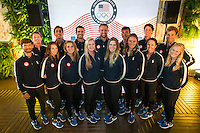 AR_08022016_RIO_PREOLYMPICS_0110.ARW  © Amory Ross / US Sailing Team.  HOUSTON - TEXAS- USA. August 2, 2016. Team dinner at the USA House.