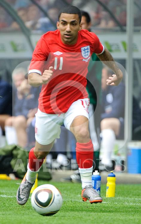 30.05.2010, UPC Arena, Graz, AUT, WM Vorbereitung, Japan vs England, im Bild Aaron Lennon, England, EXPA Pictures © 2010, PhotoCredit: EXPA/ S. Zangrando