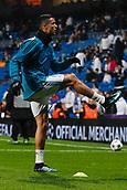 6th December 2017, Santiago Bernabeu, Madrid, Spain; UEFA Champions League football, Real Madrid versus Dortmund; Cristiano Ronaldo dos Santos (7) Real Madrid Pre-match warm-up