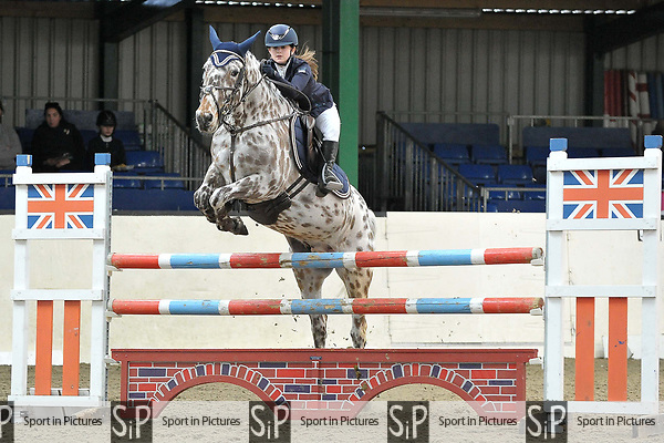 Class 5. British Showjumping Juniors. Brook Farm training centre. Stapleford abbots. Essex. 25/03/2018. ~ MANDATORY CREDIT Garry Bowden/SIPPA - NO UNAUTHORISED USE - +44 7837 394578