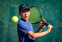 Hilversum, Netherlands, August 6, 2018, National Junior Championships, NJK, Daan van Heezik - Sverre Bakker<br /> Photo: Tennisimages/Henk Koster