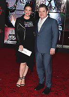 "LOS ANGELES- DECEMBER 9:  Patton Oswalt at the World Premiere of Disney Pictures and Lucasfilm's ""Star Wars: The Last Jedi"" at the Shrine Auditorium on December 9, 2017 in Los Angeles, California. (Photo by Scott Kirkland/PictureGroup)"