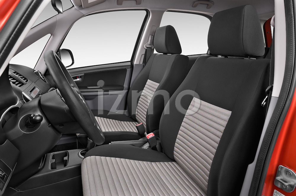 Front seat view of a 2013 Suzuki SX4 Grand Luxe Exterior 5 Door SUV 2WD Front Seat car photos