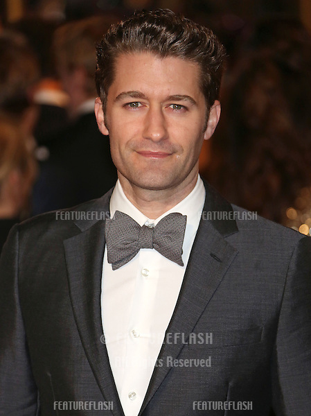 Matthew Morrison arriving at the World Premiere of 'Les Miserables' held at the Odeon & Empire Leicester Square, London. 05/12/2012 Picture by: Henry Harris / Featureflash