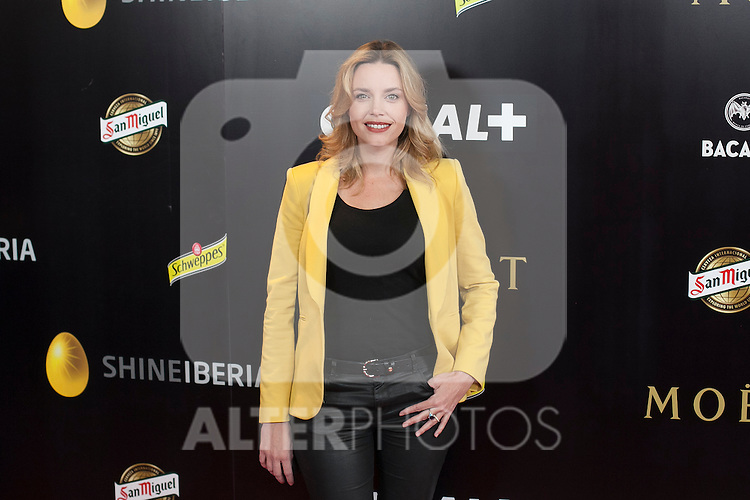 Carolina Bang poses during Pacha `El arquitecto de la noche´ film premiere in Madrid, Spain. May 25, 2015. (ALTERPHOTOS/Victor Blanco)