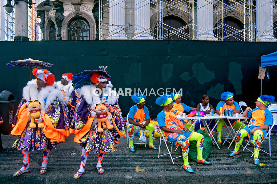 Carnaval de rua. Clovis.  Rio de Janeiro. 2010. Foto de Rogerio Reis.