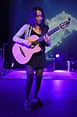 MIAMI BEACH, FL - NOVEMBER 25: Gabriela Quintero of Rodrigo y Gabriela performs at the Fillmore on November 25, 2017 in Miami Beach, Florida. Credit Larry Marano © 2017