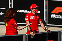 31st July 2020, Silverstone, Northampton, UK; Grand Prix of Great Britain, free practise;  16 Charles Leclerc MCO, Scuderia Ferrari Mission Winnow, Silverstone Great Britain