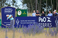 Julian Suri (USA) on the 7th during Round 2 of the Aberdeen Standard Investments Scottish Open 2019 at The Renaissance Club, North Berwick, Scotland on Friday 12th July 2019.<br /> Picture:  Thos Caffrey / Golffile<br /> <br /> All photos usage must carry mandatory copyright credit (© Golffile | Thos Caffrey)