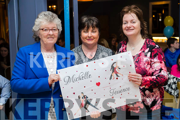 Phyllis McLoughlin, Nora Herlihy and Siobhan Foley, pictured at Ballymac Strictly Come Dancing, at Ballygarry House Hotel & Spa, Tralee, on Saturday night last.