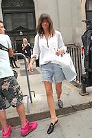 NEW YORK, NY - SEPTEMBER 10: Georgia Fowler seen on September 10, 2016 in New York City. Credit: DC/Media Punch