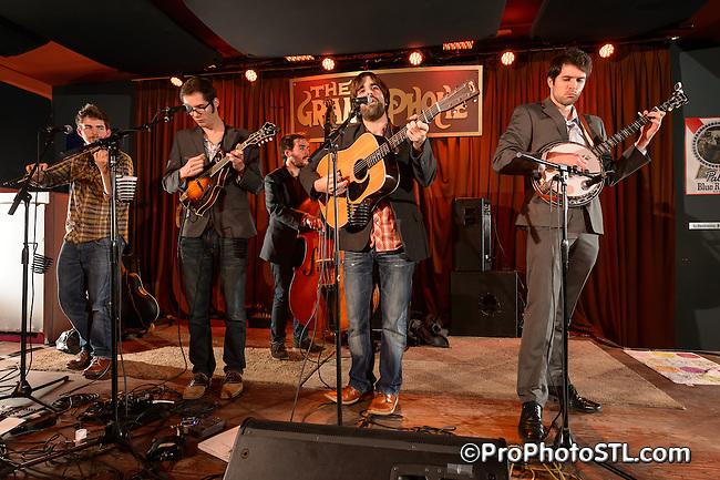 Kansas Street Ramblers in concert at The Gramophone in St. Louis, MO on Jan 11, 2013.