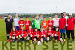 Tralee Dynamos U15 who played Park FC U14 last Saturday morning in a challenge match at Christy Leahy Pk, Tralee.