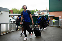 Ruaridh McConnochie and the rest of the Bath Rugby team arrive at Welford Road. Gallagher Premiership match, between Leicester Tigers and Bath Rugby on May 18, 2019 at Welford Road in Leicester, England. Photo by: Patrick Khachfe / Onside Images