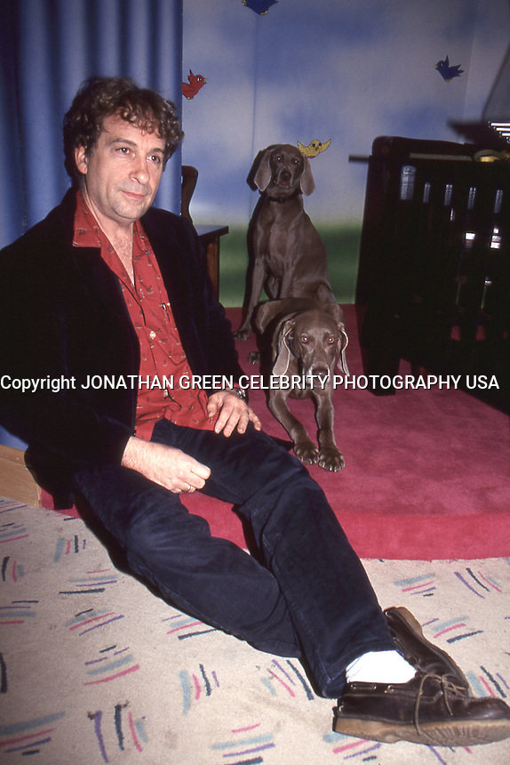 William Wegman Weimaraner 1994 by Jonathan Green