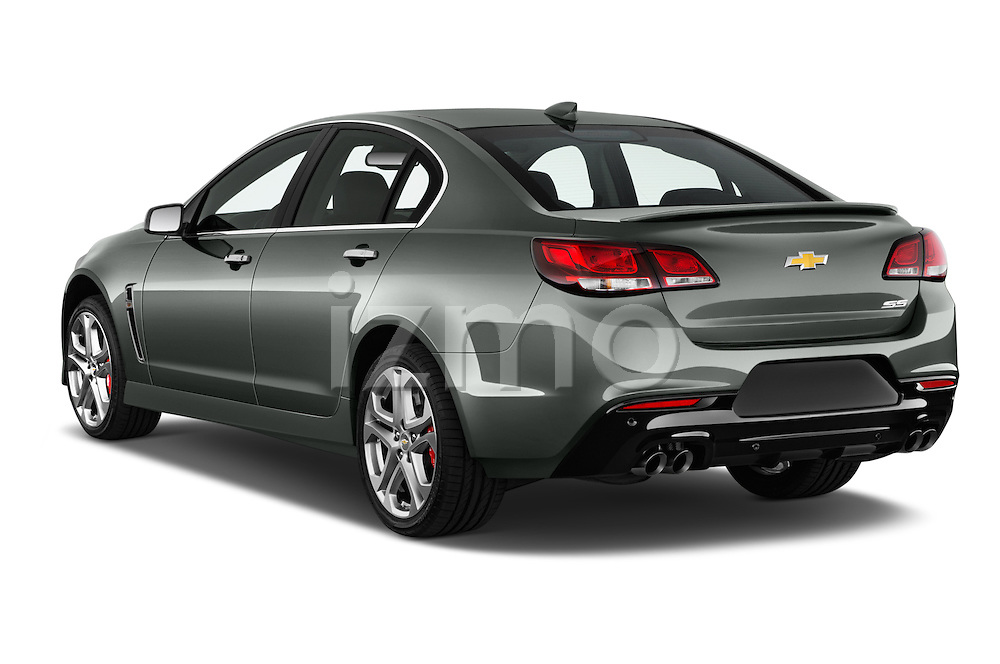 Car pictures of rear three quarter view of 2016 Chevrolet SS 6.2 4 Door Sedan Angular Rear