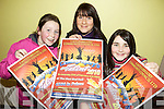 WHO'S GOT THE TALENT: Castlegregory locals Maura Cronin, Shannon Maunsell Cronin and Ellen Goodwin are preparing for Castlegregory's Got Talent competition taking place on February 27th in the Community Centre.