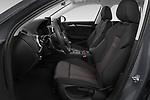 Front seat view of a 2019 Audi A3 Sportsportback Sport 5 Door Hatchback front seat car photos