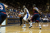 November 28, 2008. Durham, NC.. Duke vs. Duquesne at Cameron Indoor Stadium..Nolan Smith, #2, had 15 points  in the 95-72 Duke victory.