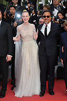 CANNES, FRANCE. May 25, 2019: Elle Fanning & Alejandro Gonzalez Inarritu at the Closing Gala premiere of the 72nd Festival de Cannes.<br /> Picture: Paul Smith / Featureflash