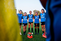 Kansas City, MO - Sunday September 3, 2017: Mandy Laddish, Alexa Newfield, Shea Groom, Desiree Scott, Sydney Miramontez during a regular season National Women's Soccer League (NWSL) match between FC Kansas City and Sky Blue FC at Children's Mercy Victory Field.