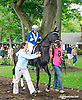 Lakota before The Small Wonder Stakes at Delaware Park on 9/12/15