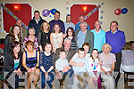 70TH: A greeat night for Joe Martin Castleisland as he celebrated his 70th Birthday in The fountain Bar, Castleisland, with family and friends. (Joe is seated 4th from left).