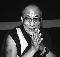 His Holiness the Dalai Lama of Tibet at Brandeis University Waltham MA May 1998