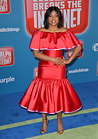 LOS ANGELES, CA. November 05, 2018: Taraji P. Henson at the world premiere of &quot;Ralph Breaks The Internet&quot; at the El Capitan Theatre.<br /> Picture: Paul Smith/Featureflash