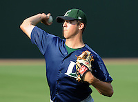 June 19, 2009: RHP Jordan Lyles (20) of the Lexington Legends, No. 6 prospect of the Houston Astros, prior to a game against the Greenville Drive at Fluor Field at the West End in Greenville, S.C. Photo by: Tom Priddy/Four Seam Images