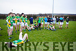Castlegregory defeated by Rathkeale in the Munster U18 football final in Duagh on Friday last.
