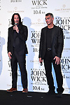 """(L-R) Keanu Reeves and Chad Stahelski attend the Japan premiere of """"John Wick: Chapter 3 - Parabellum"""" on September 10 in Tokyo, Japan."""