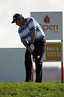 Gary Murphy tees off on the 9thin the 3rd Round of the Open de Espana in Madrid...Photo NEWSFILE/Eoin Clarke.(Photo credit should read Eoin Clarke/NEWSFILE)....This Picture has been sent you under the condtions enclosed by:.Newsfile Ltd..The Studio,.Millmount Abbey,.Drogheda,.Co Meath..Ireland..Tel: +353(0)41-9871240.Fax: +353(0)41-9871260.GSM: +353(0)86-2500958.email: pictures@newsfile.ie.www.newsfile.ie.FTP: 193.120.102.198..
