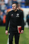Darren Ward coach for Sheffield Utd during the championship match at St Andrews Stadium, Birmingham. Picture date 21st April 2018. Picture credit should read: Simon Bellis/Sportimage