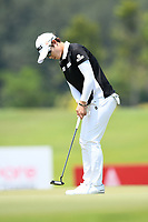 SINGAPORE - MARCH 03: Eun-Hee Ji of South Korea on the 16th green during the final round of the HSBC Women's World Championship 2019 at Sentosa Golf Club - Tanjong Course, Singapore on March 03, 2019.<br /> .<br /> .<br /> .<br /> (Photo by: Naratip Golf Srisupab/SEALs Sports Images)<br /> .<br /> Any image use must include a mandatory credit line adjacent to the content which should read: Naratip Golf Srisupab/SEALs Sports Images