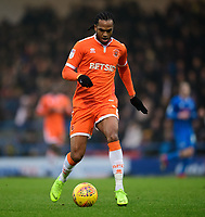Blackpool's Nathan Delfouneso<br /> <br /> Photographer Chris Vaughan/CameraSport<br /> <br /> The EFL Sky Bet League One - Rochdale v Blackpool - Wednesday 26th December 2018 - Spotland Stadium - Rochdale<br /> <br /> World Copyright &copy; 2018 CameraSport. All rights reserved. 43 Linden Ave. Countesthorpe. Leicester. England. LE8 5PG - Tel: +44 (0) 116 277 4147 - admin@camerasport.com - www.camerasport.com