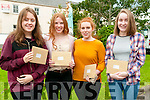 Presentation Convent, Listowel students who received leaving cert results on Wednesday morning last. L- R: Laura Keane, twins Aoife & Clodagh Kissane & Finola McNamara.