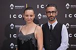 Leonor Watling poses at ICON awards ceremony in Madrid, Spain. June 03, 2015. (ALTERPHOTOS/Victor Blanco)