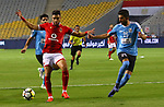 Egypt's Al Ahly and Jordan's Al-Faisaly compete during their Arab Club chamipionship semi finial soccer match at Borg Al-Arab Stadium in Alexandria, Egypt, 02 August 2017. Photo by Stringer