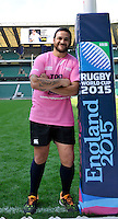 Twickenham, England. RWC 2011 winner (NZ) Piri Weepu ( London Welsh) during England Rugby 2015, Organising Committee for Rugby World Cup 2015, is hosting the world record attempt with over 1000 people (current record 946). The scrum will be made up of fans, representatives of each RWC 2015 match venue and host city, current players, ex-players and stakeholders. IRB referee Wayne Barnes will officiate the scrum attempt at Twickenham Stadium, London, England on September 12, 2014