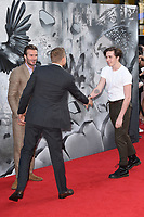Charlie Hunnam with David and Brooklyn Beckham<br /> at the premiere of &quot;King Arthur:Legend of the Sword&quot; at the Empire Leicester Square, London. <br /> <br /> <br /> &copy;Ash Knotek  D3265  10/05/2017