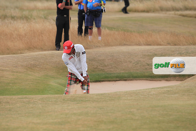 Shingo KATAYAMA (JAP) during round 4 of  The 142th Open Championship Muirfield, Gullane, East Lothian, Scotland 21/7/2013<br /> Picture Fran Caffrey www.golffile.ie: