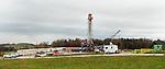 Drill site. Springville, Susquehanna County, Marcellus Shale, Pennsylvania.