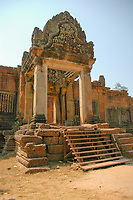 Banteay Samré is a temple at Angkor, Cambodia located east of the East Baray. Built under Suryavarman II and Yasovarman II in the early 12th century, it is a Hindu temple in the Angkor Wat style.