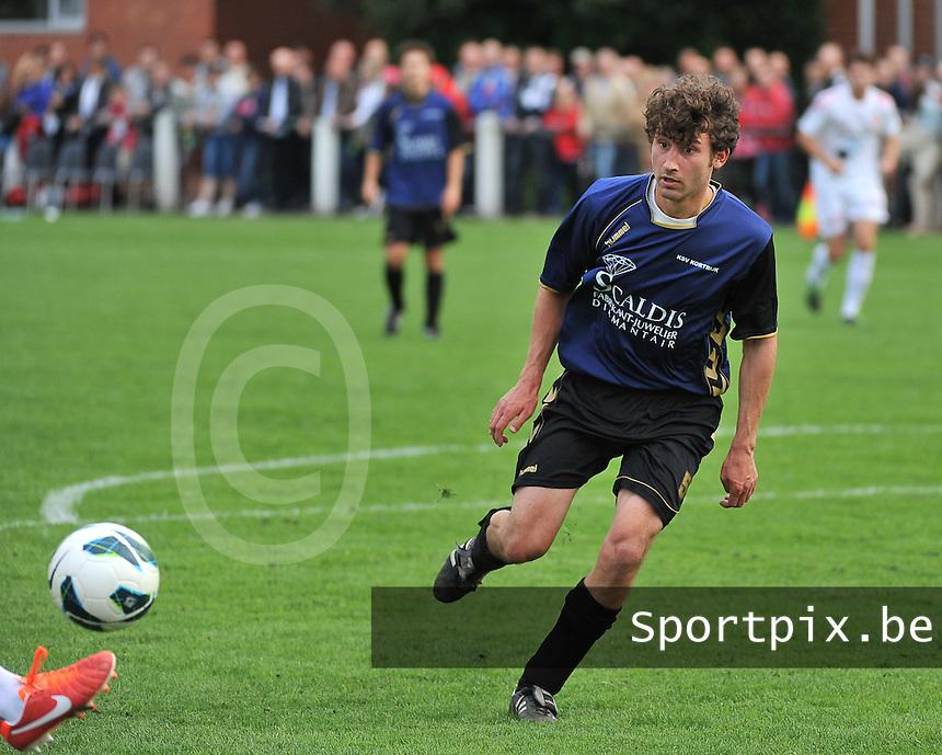 KV Kortrijk - SV Kortrijk : Sibren Gysels<br /> foto VDB / Bart Vandenbroucke