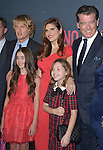 "Owen Wilson ,Sterling Jerins, Lake Bell,Calire Geare and Pierce Brosnan attends The Premiere Of The Weinstein Company's ""No Escape"" held at The Regal Cinemas L.A. Live in Los Angeles, California on August 17,2015                                                                               © 2015 Hollywood Press Agency"