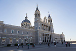 Catedral de Nuestra Señora de la Almudena, cathedral church, Madrid, Spain