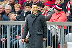 09.03.2019, Allianz Arena, Muenchen, GER, 1.FBL,  FC Bayern Muenchen vs. VfL Wolfsburg, DFL regulations prohibit any use of photographs as image sequences and/or quasi-video, im Bild Niko Kovac (Cheftrainer FCB) <br /> <br />  Foto &copy; nordphoto / Straubmeier